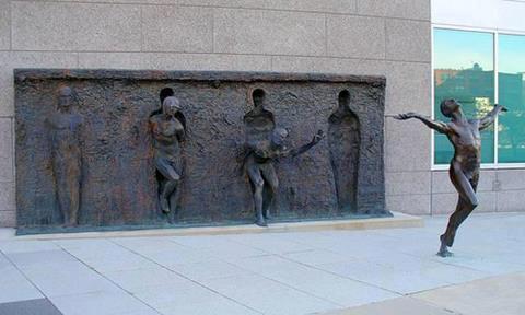 FreeFromTheWall sculpture