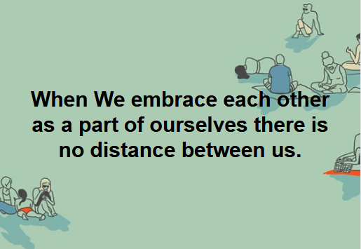 Embracing Each Other